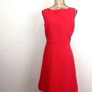 Kate Spade Red Sleeveless Scuba Dress - N736